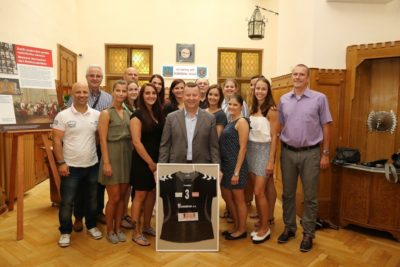 Setkání bronzového týmu s Olomouckým primátorem