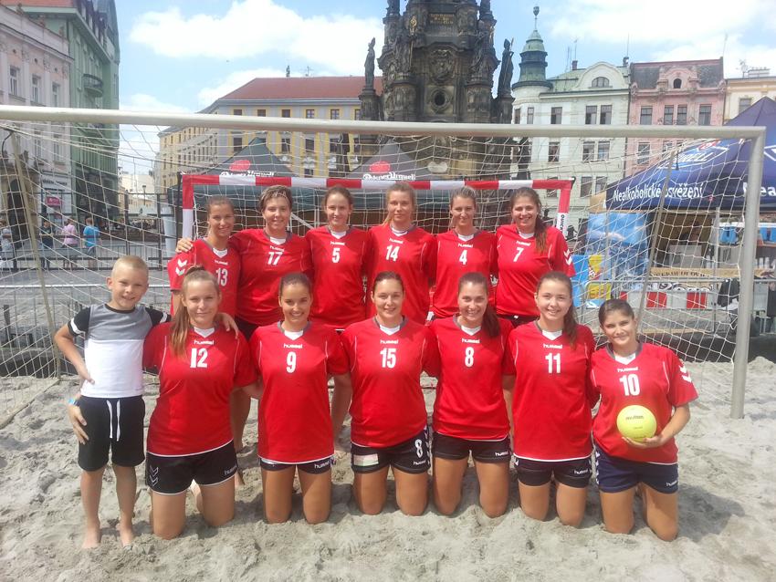 Beach sport Olomouc 2017