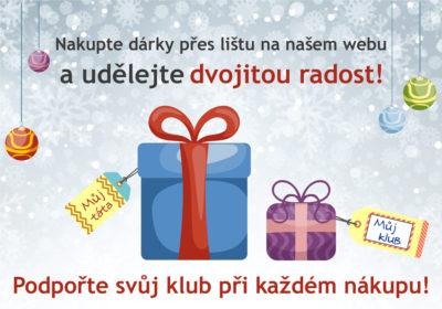 Vzpomeňte si při nákupech na nás a udělejte Veselé Vánoce i nám!