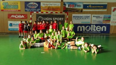 Turnaj mladších mini v Olomouci