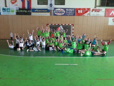 Turnaj mladších mini v hale DHK Zora Olomouc