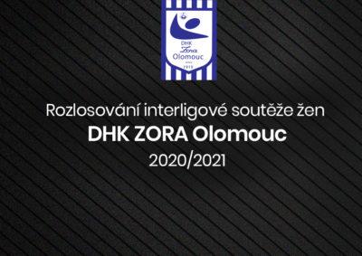 Rozlosování interligové soutěže žen  DHK ZORA Olomouc